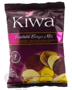 Kiwa Organic Vegetable Crisps Mix 70 gm