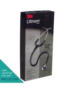 Littmann Stethoscope Infant Black 28 inch 2114