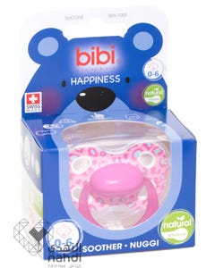 Bibi Premium Swiss Soother - Natural - 0-6 Months