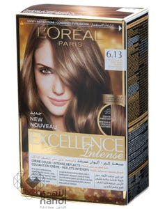 Excellence Hair Color Cool Dark Blonde 6.13