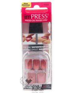 Kiss Impress Waterproof Nails Light Brown Color 24 pcs