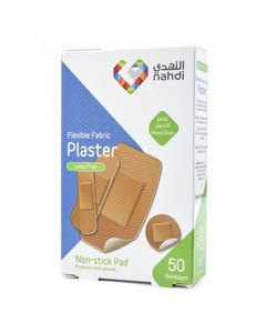 Nahdi Plaster Flexible Fabric Assorted Four Sizes (85104)