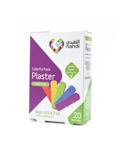 Nahdi Plaster Wound Plaster Colorful Pack (85354) 20 bandages