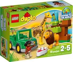 Lego Duplo Around The World - Savanna - 2 - 5 Years