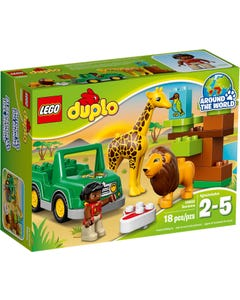 Lego Duplo Around The World - Savanna - 2 - 5 Years