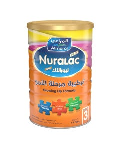 Nuralac Plus Milk (3) Growing Up 1700 gm