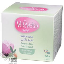 Velveta Warm Wax For Sensitive Skin Argan Extract 250 ml