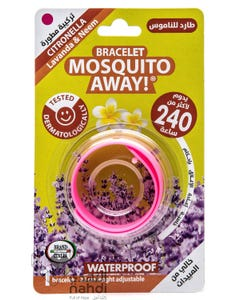 Brand Italia Bracelet Mosquito Away - Pink - Lasts 240 hours