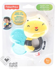 Fisher Price Super Soft Silicone Bee Teether +0