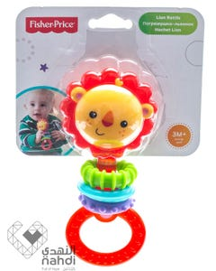 Fisher Price Lion Rattle +0