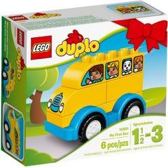 ليجو دوبلو مكعبات الباص 1.5 - 3 سنوات