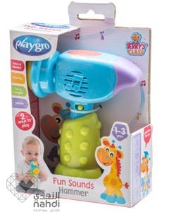 Playgro Fun Sounds Hammer - Boys