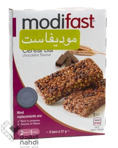 Modifast Cereal Bar Chocolate Flavoured 248 gm