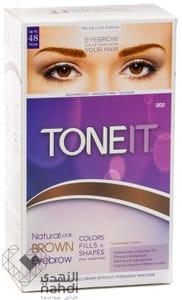 Tone It - Eyebrows Coloring Cream Natural Look Brown 20 9 ml