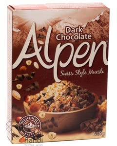 Alpen Dark Chocolate Swiss Style Muesli 625 gm