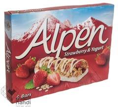Alpen Strawberry & Yogurt 5 Bars