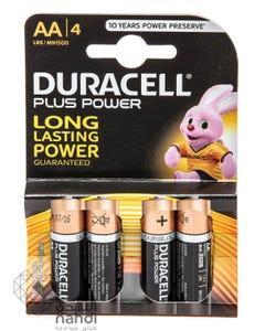 Duracell Plus Power AA 4Batteries