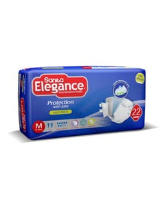 Sanita Elegance Medium 22 Diapers