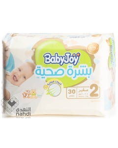 Baby Joy Super Premium Size (2) Small Economic Pack 3.5-7 kg 30 Diapers