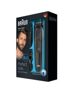 Braun Electrical Face and beard Shaving Machine 6 in 1 (MGK3020)
