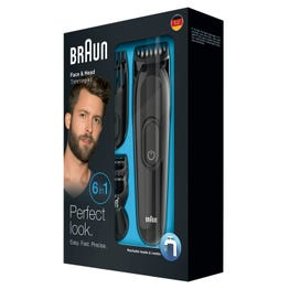 Braun Electrical Face and beard Shaving Machine 6 in 1 (MGK3020)