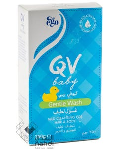 Ego QV Baby Mild Cleansing Gentle Wash 250 gm