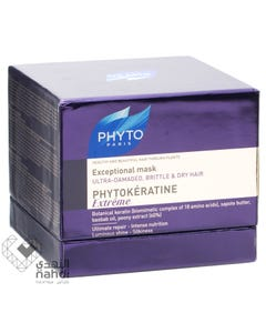 Phytokeratine Exceptional Mask for Ultra Damaged Brittle And Dry Hair 200 ml