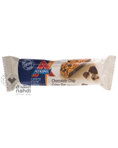 Atkins Chocolate Chip Crisp 30 gm Bar