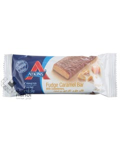Atkins Fudge Caramel 60 gm Bar