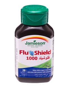 Jamieson Flu Shield 1000 - 20 Softgels