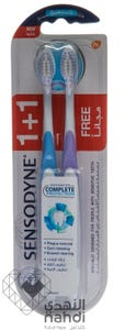 Sensodyne Toothbrush Complete Protection Soft 1+1 Free