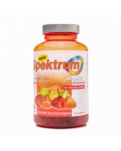 Spektrum Gummies With Multivitamin 60 Gummies