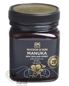 واتسون اند صن عسل مانوكا 20 +250 جم