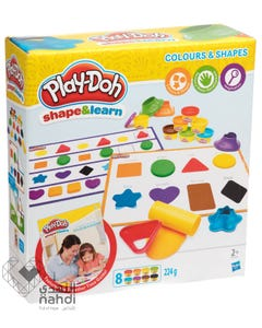 Play Doh Colours And Shapes +2 years