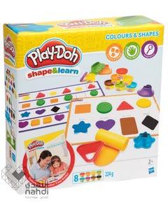 بلاي دو لعبة تعليم الأشكال والألوان +2 سنوات