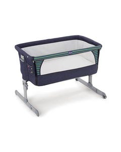 Chicco Next 2 Me Co-Sleeping Crib (Denim)
