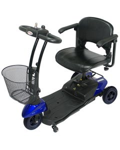 CTM Micro Scooter Three Wheels 6.4 Kmph Blue HS-115