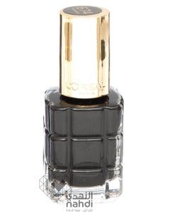 Loreal Nail Polish Black 674
