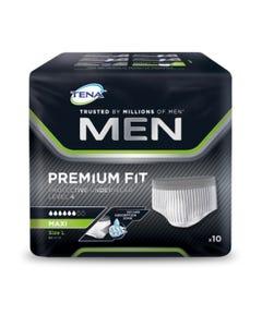 Tena Men Protective Underwear Premium Large Level 4 10 Pcs