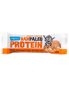 Maxsport Protein Bars Raw Paleo Penut Volcano 50 gm