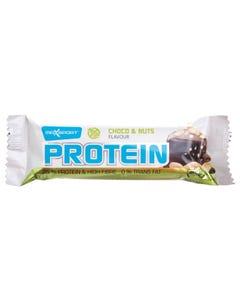 ماكس سبورت الواح بروتين شوكولاتة ومكسرات 60 جم
