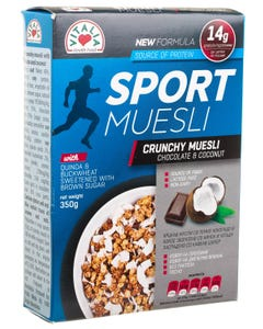 Vitalia Sport Muesli With Chocolate And Coconut 350 gm