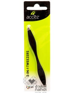Accez 2-IN-1 Tweezers