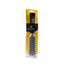 Accez Styling & Drying Brush Silver