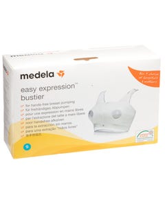 Medela Easy Expression Bustier White Small