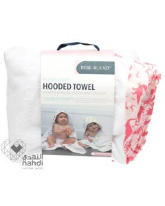 Babe Au Lait Hooded Towel - Dinorama