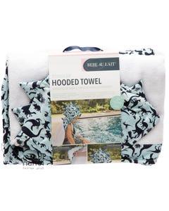 Babe Au Lait Toddler Hooded Towel - Dinomite