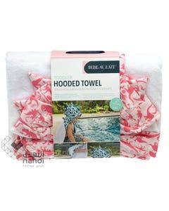 Babe Au Lait Toddler Hooded Towel - Dinorama