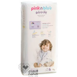 Pink n Blue Size (6) XXLarge 15+ Kg - 48 Diapers