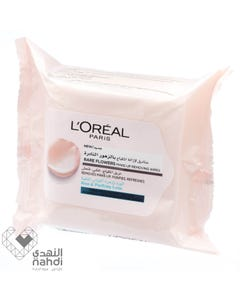 Loreal Rare Flower Wipes Normal To Combined Skin 25 pcs